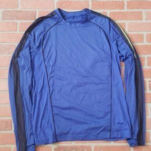 Lululemon Blue Long Sleeve